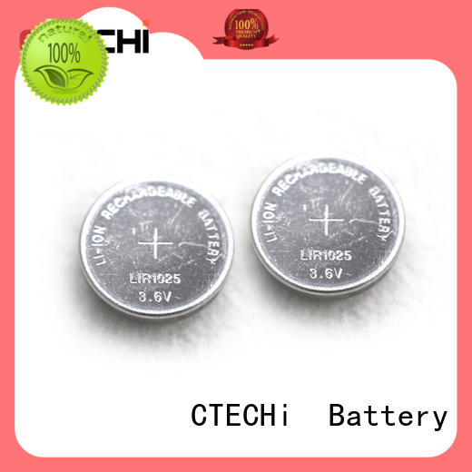 power rechargeable button battery wholesale for car key CTECHi