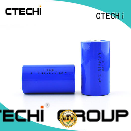 Large capacity lithium cylindrical primary battery ER34615