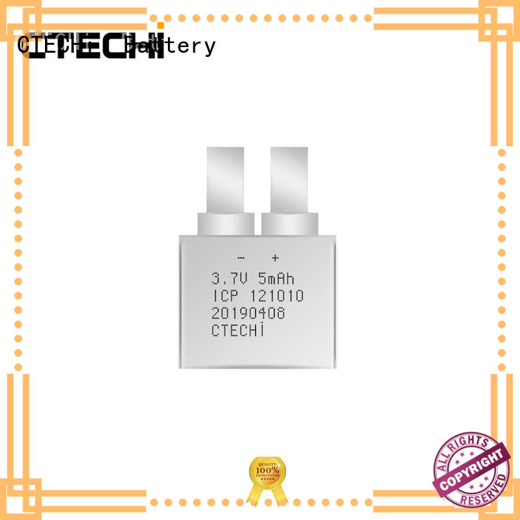 CTECHi reliable micro-thin battery series for industry