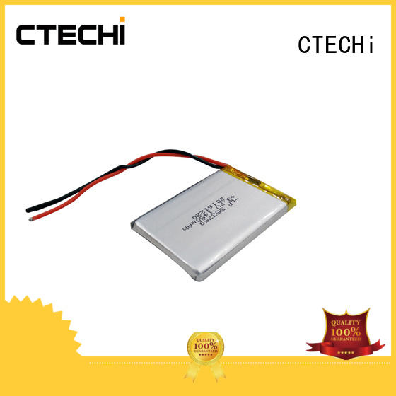 lithium polymer batterie service for electronics device CTECHi
