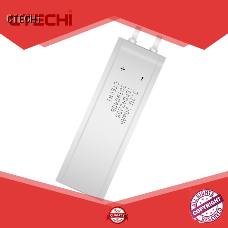 otp micro slim battery customized for factory CTECHi