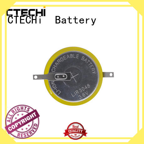 CTECHi performance rechargeable coin cell design for car key