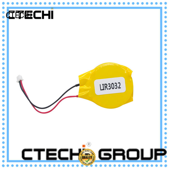 CTECHi cycle rechargeable button batteries design for watch