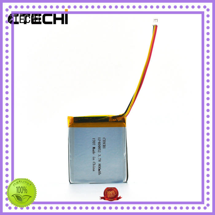 CTECHi conventional lithium polymer battery 12v personalized for smartphone
