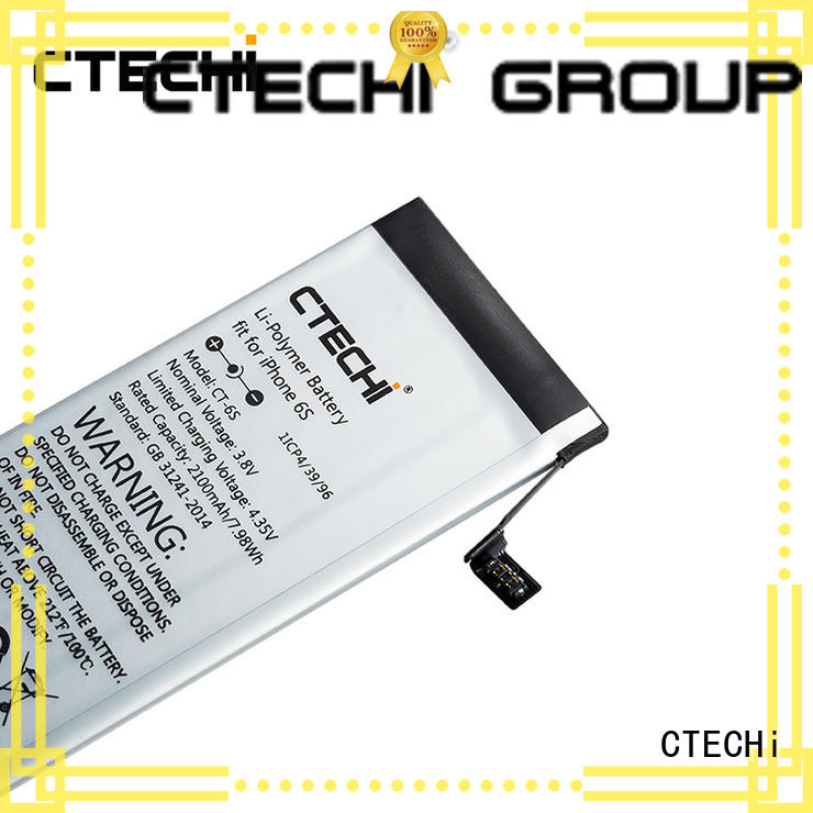 CTECHi iPhone battery wholesale for repair