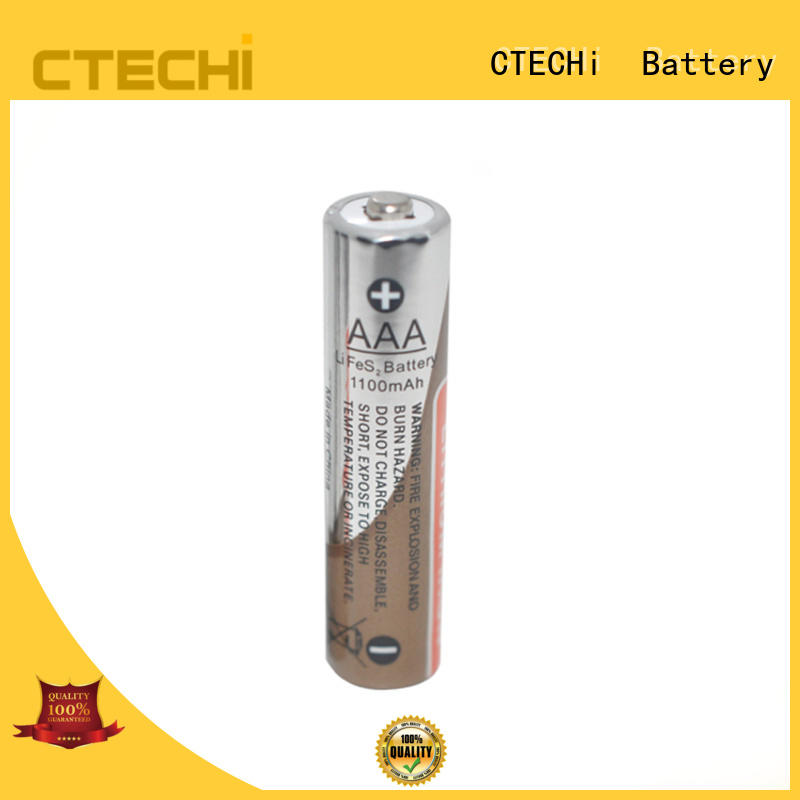 High capacity LIFES2 primary lithium battery AAA size 1.5V