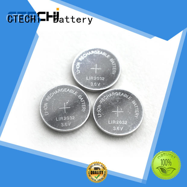 CTECHi rechargeable button battery factory for watch
