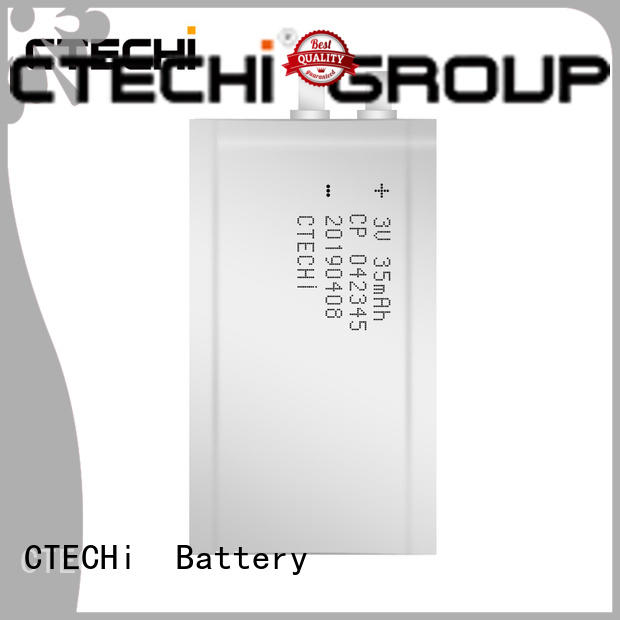 CTECHi practical micro-thin battery series for industry