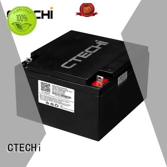 storage batterie lifepo4 life for travel CTECHi
