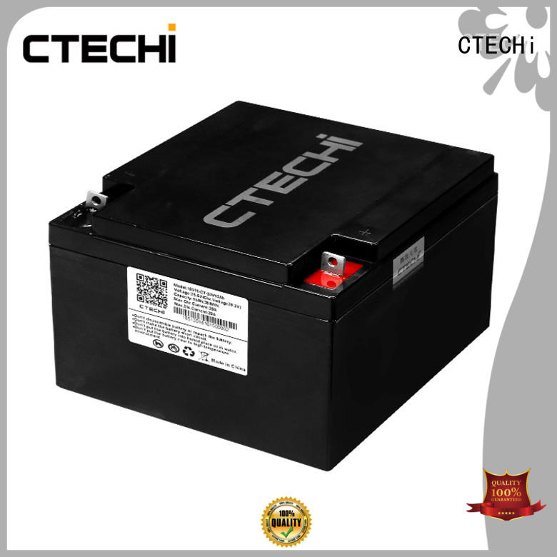 CTECHi lifepo4 battery 18650 personalized for RV