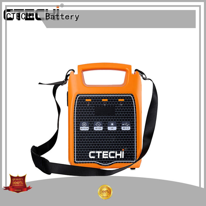 CTECHi emergency power bank manufacturer for commercial