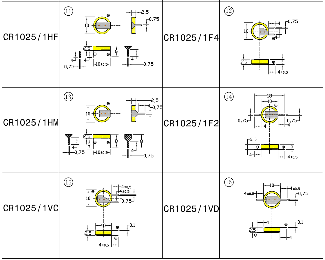 CTECHi button cell series for camera-1