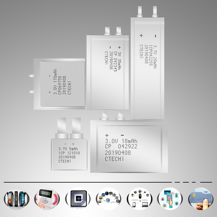 CTECHi practical micro-thin battery series for manufacture-2