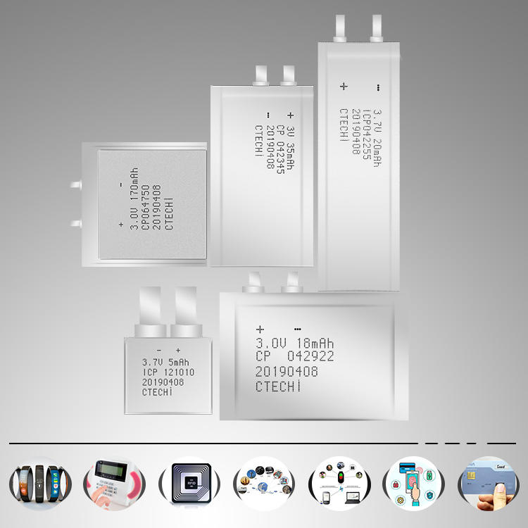 reliable micro slim battery directly sale for industry