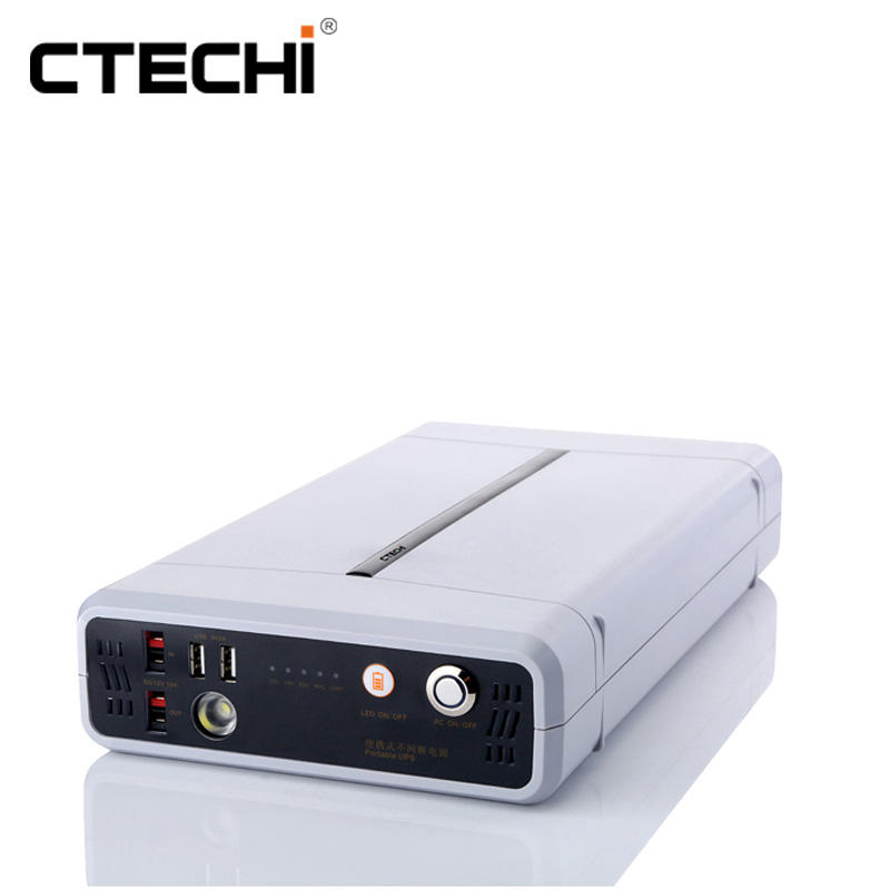 CT500 11.1V 41.6Ah UPS Portable Power Station for Outdoor Camping Hiking