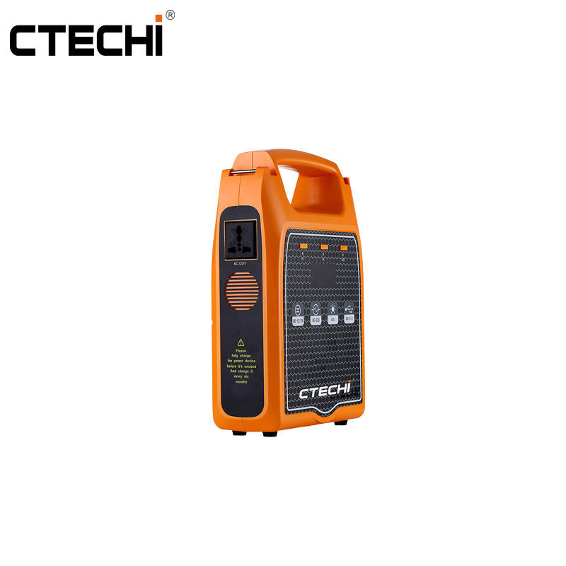 CT600 25.9V 23.4Ah Portable Power Station for Outdoor Camping Hiking