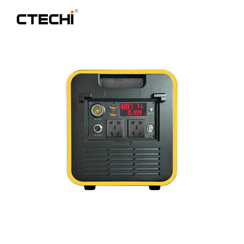CT2000-S 25.9V 72.8Ah Portable Power Station for Outdoor Camping Hiking