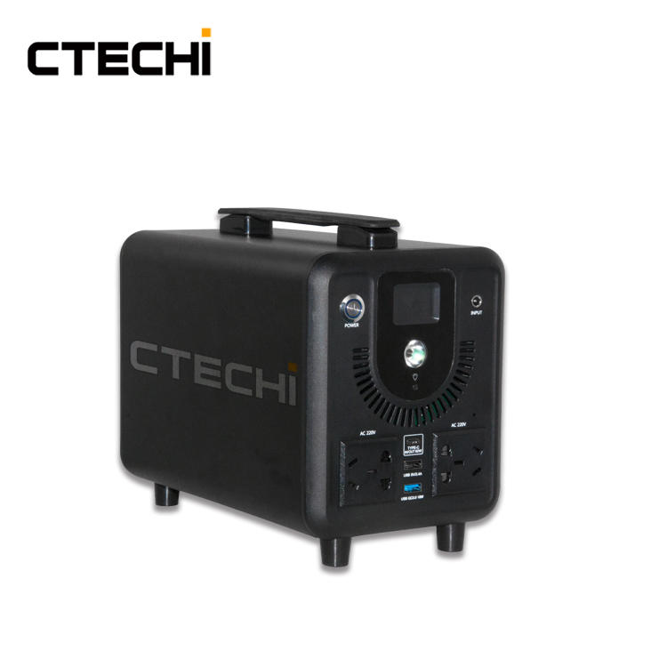 CTE500 51.8V 109.3Ah Portable Power Station for Outdoor Camping Hiking