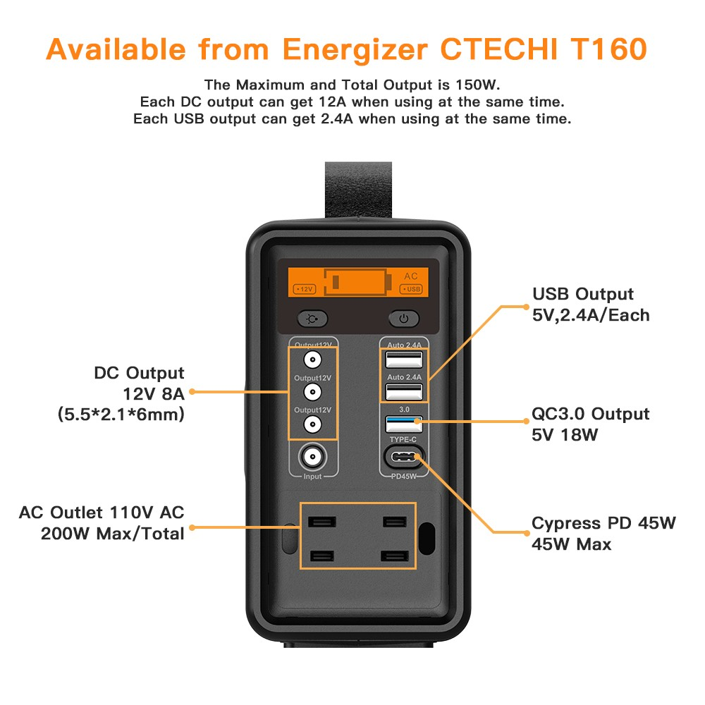 CTECHi 1500w power station customized for camping-2