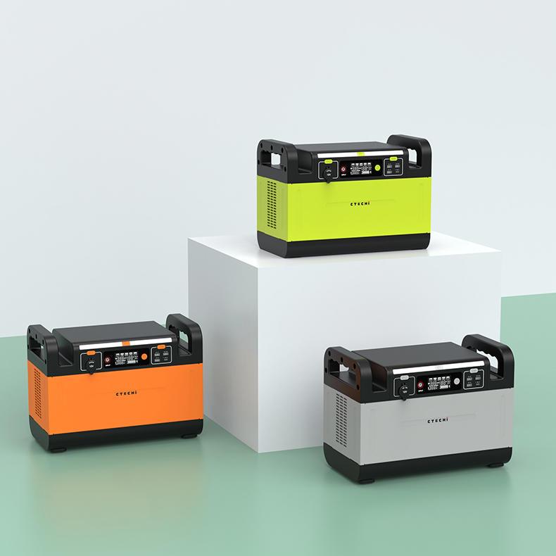 Portable Power Station 1000W 110V 220V Machine Backup battery For Emergency