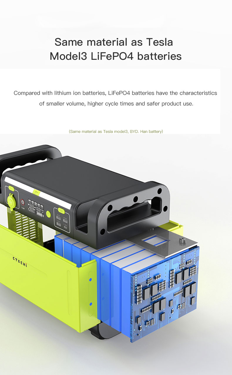 CTECHi quality lithium battery power station manufacturer for hospital-4