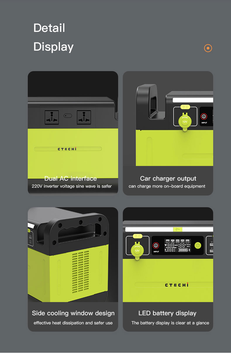 CTECHi quality lithium battery power station manufacturer for hospital-12