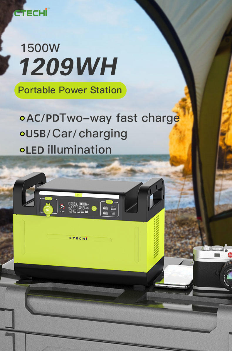 CTECHi quality lithium battery power station manufacturer for hospital