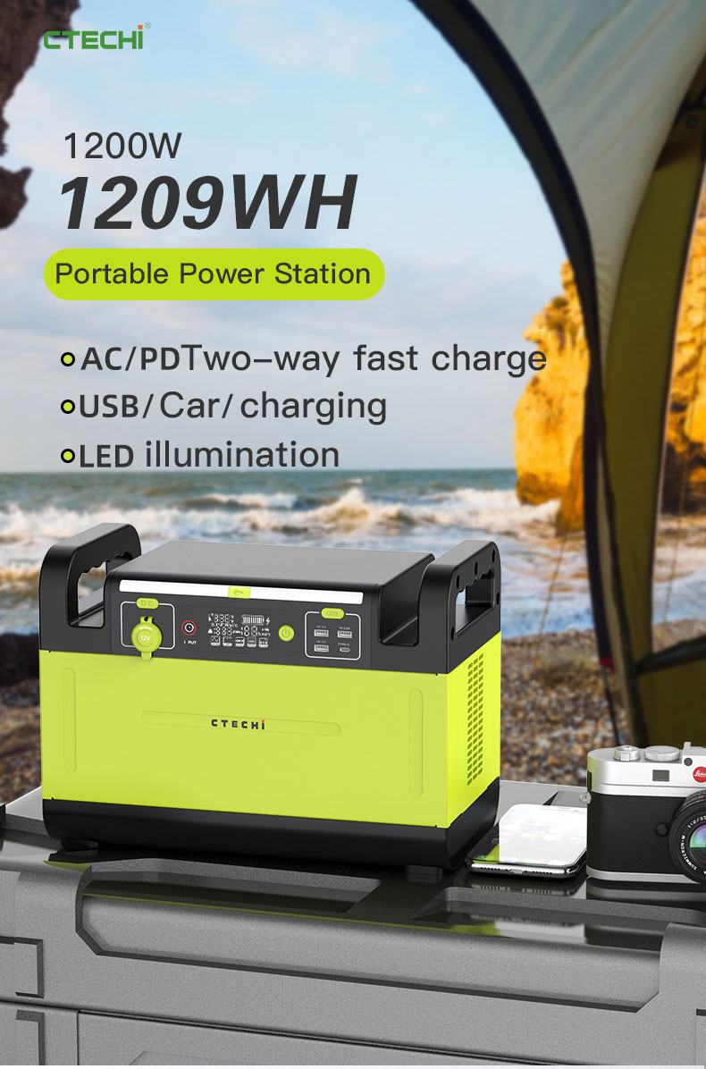 CTECHi stable lithium battery power station manufacturer for outdoor-1
