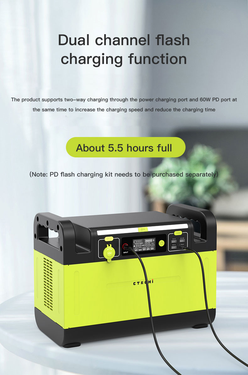 CTECHi stable lithium battery power station manufacturer for outdoor-7