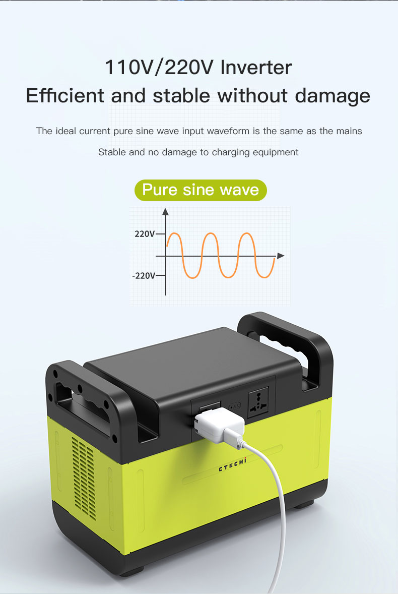 CTECHi stable lithium battery power station manufacturer for outdoor-11