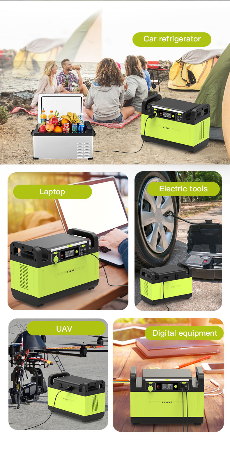 CTECHi stable lithium battery power station manufacturer for outdoor-13