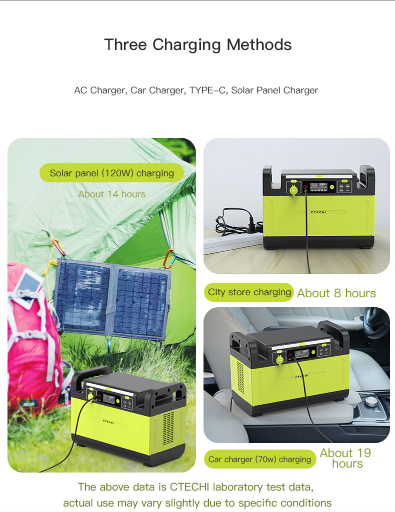 CTECHi stable lithium battery power station manufacturer for outdoor-15