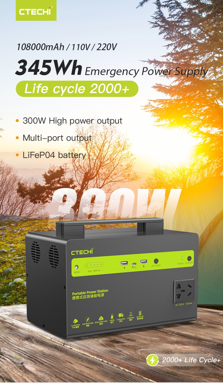 certificated outdoor power station customized for hospital-1