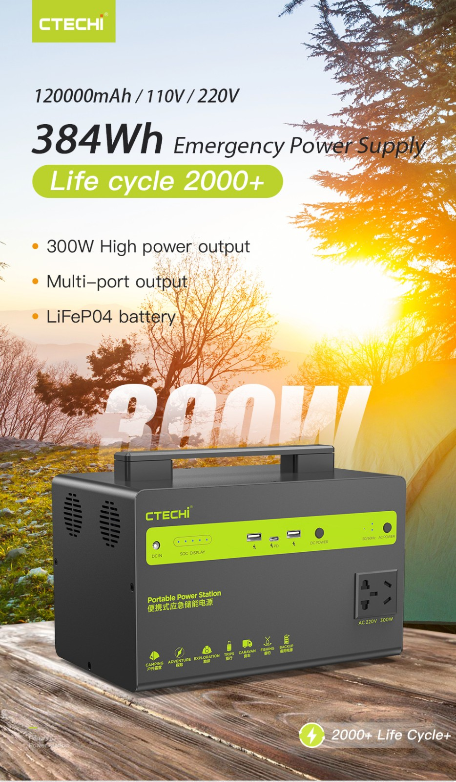 stable battery power station customized for outdoor-1