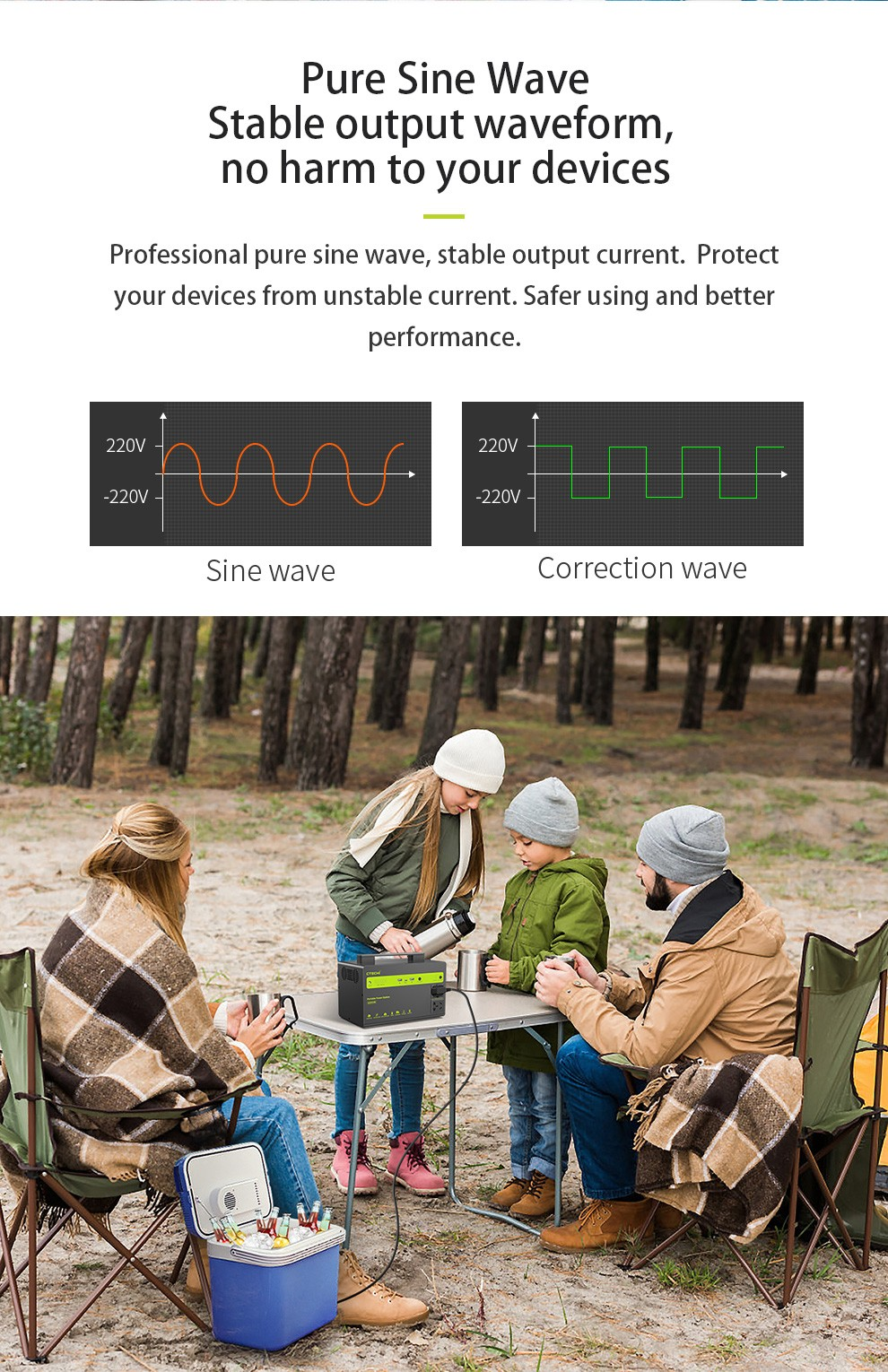 CTECHi outdoor power station personalized for household-5
