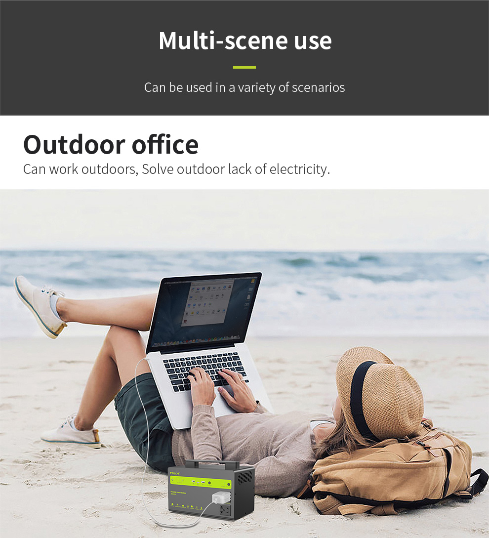 CTECHi outdoor power station personalized for household-8