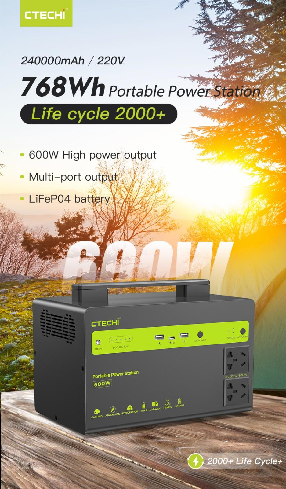 certificated lifepo4 power station factory for commercial