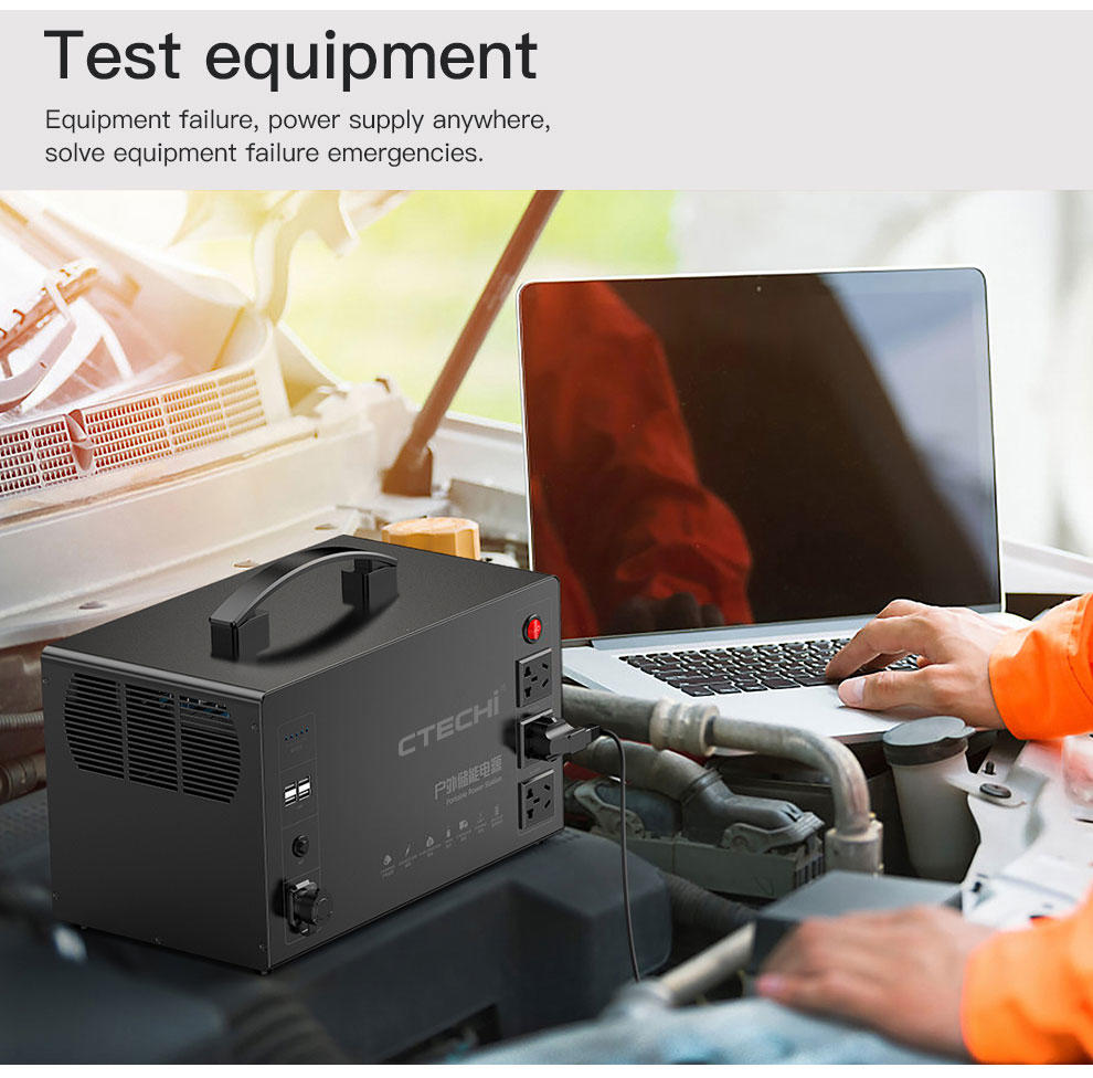 CTECHi portable power station manufacturer for commercial