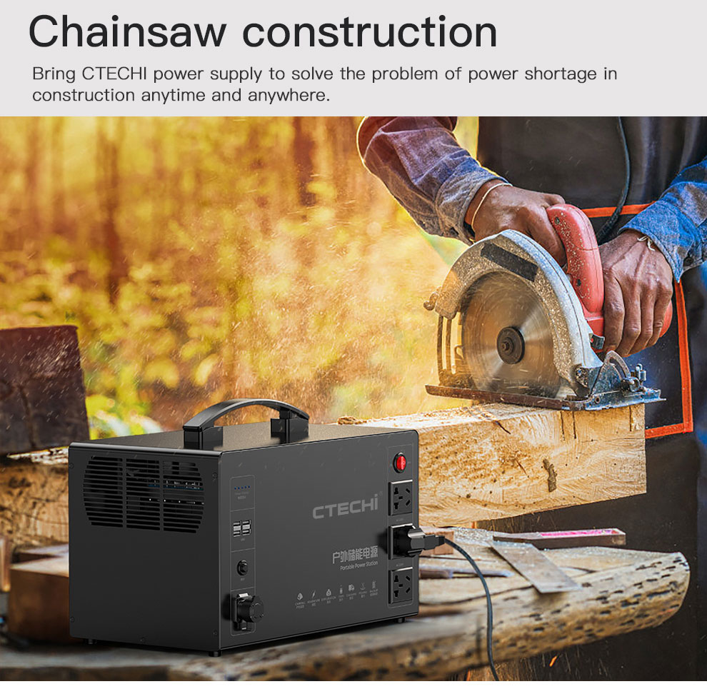 CTECHi quality lithium portable power station factory for outdoor-6