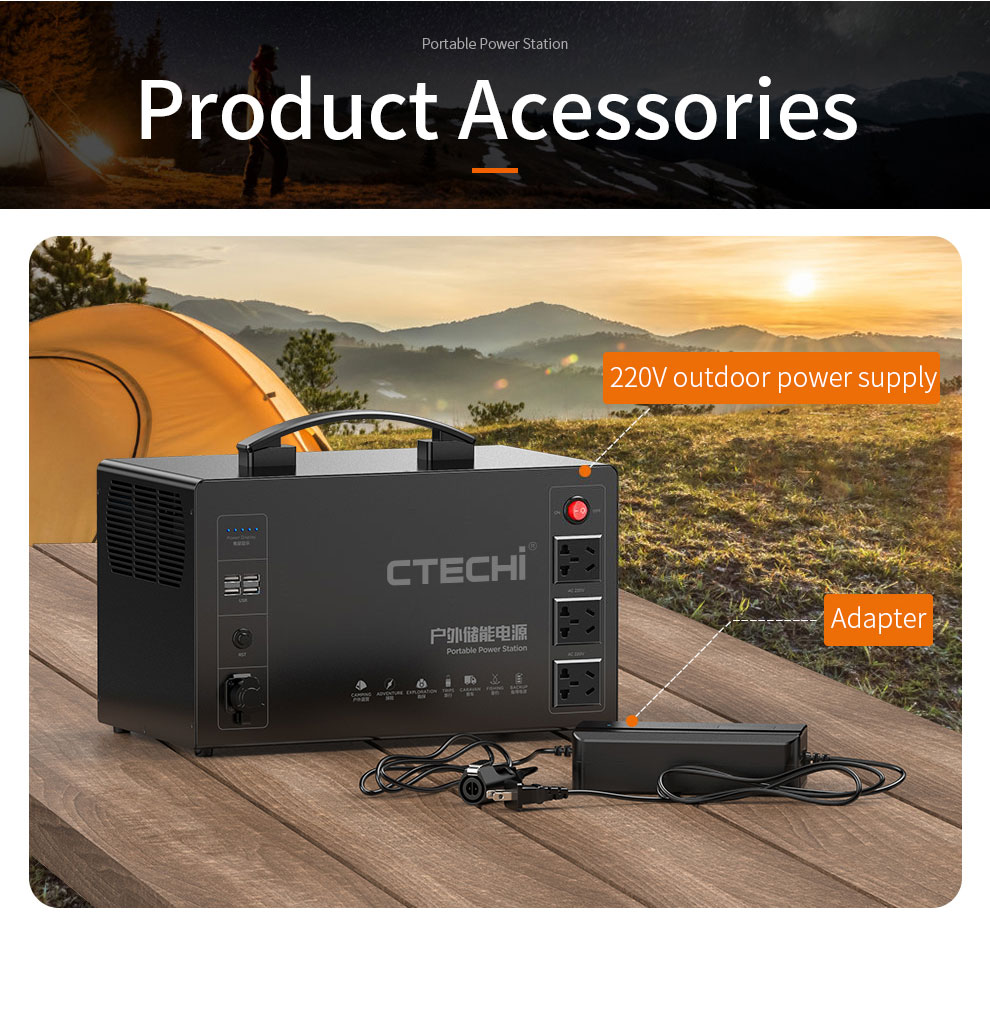 CTECHi quality lithium portable power station factory for outdoor-20