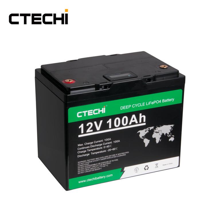 high performance Energy storage LiFePO4 battery pack 12V100Ah