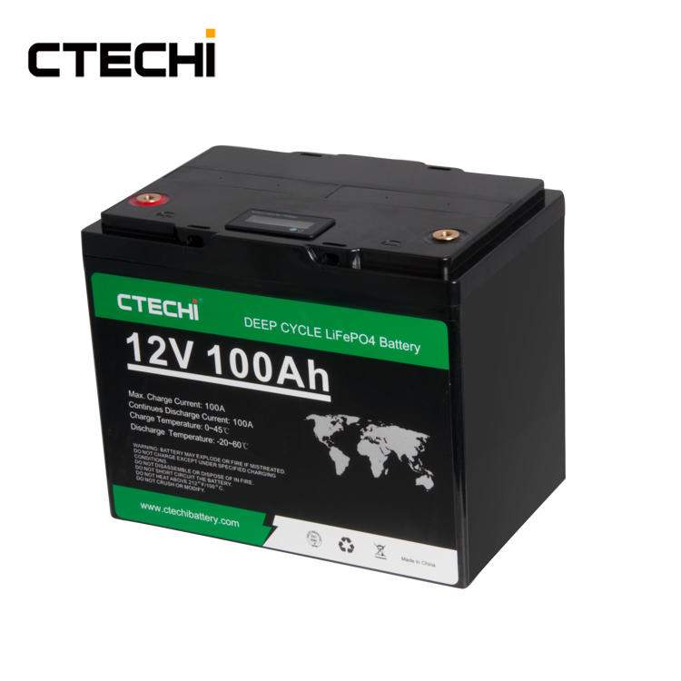 high performance Energy storage LiFePO4 battery pack 12V100Ah