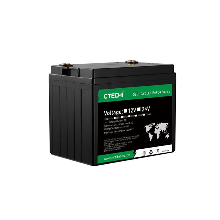high performance LiFePO4 battery pack 12V 60Ah