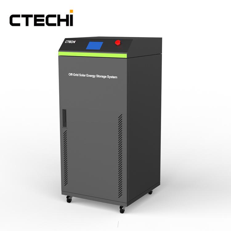 CTECHI Big Power 15Kwh HESS Home Solar Energy Storage System LiFePO4 48V Battery Off Grid Solar System UPS