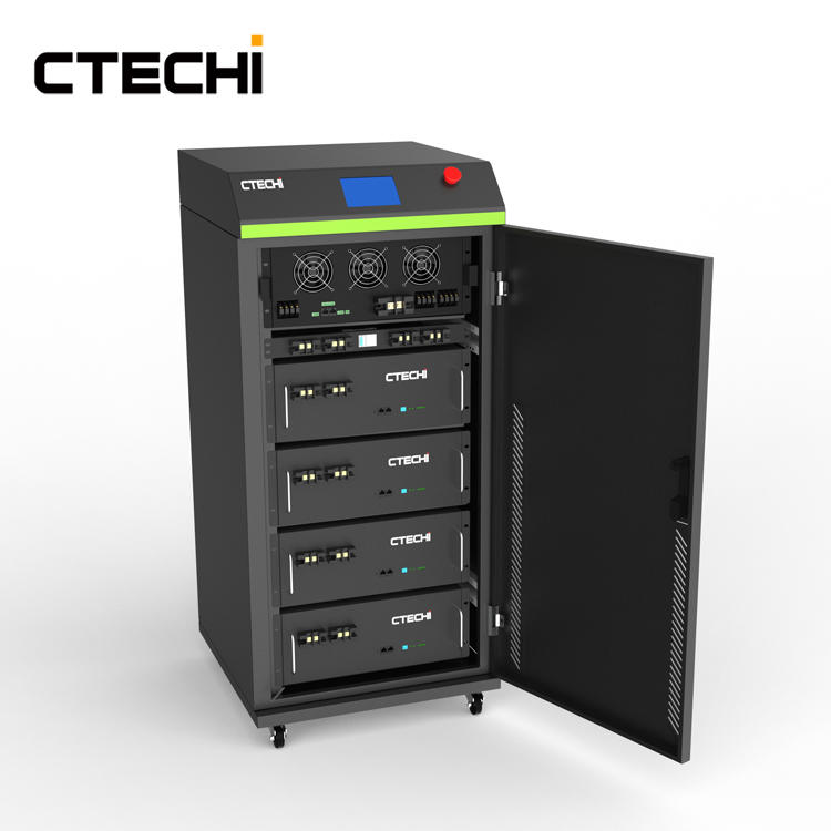 CTECHI Big Power 15Kwh HESS Home Solar Energy Storage System LiFePO4 48V Battery Off Grid Solar System UPS