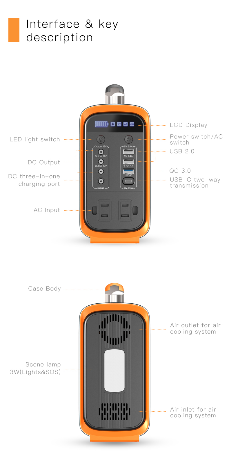 certificated lithium ion power station manufacturer for outdoor-18