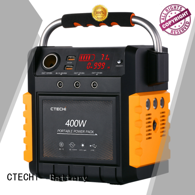 CTECHi professional emergency power bank factory for commercial