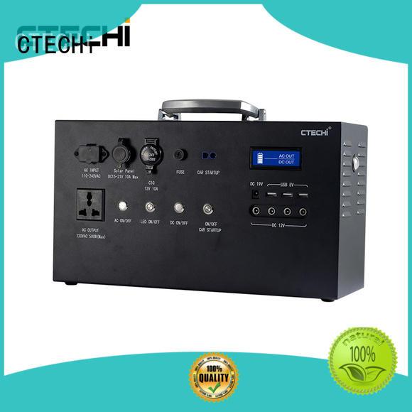 CTECHi durable lifepo4 batterie 12v for solar energy