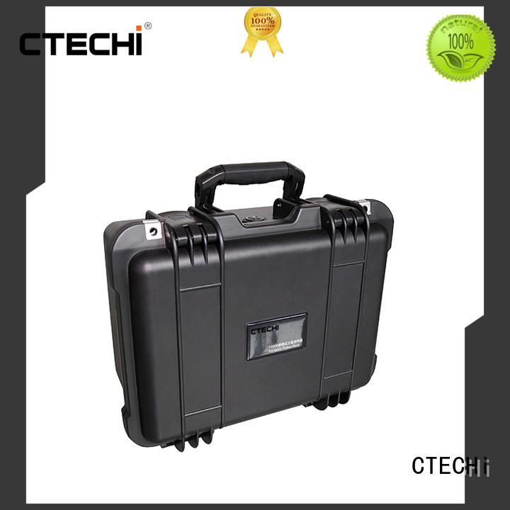 CTECHi emergency power bank customized for commercial