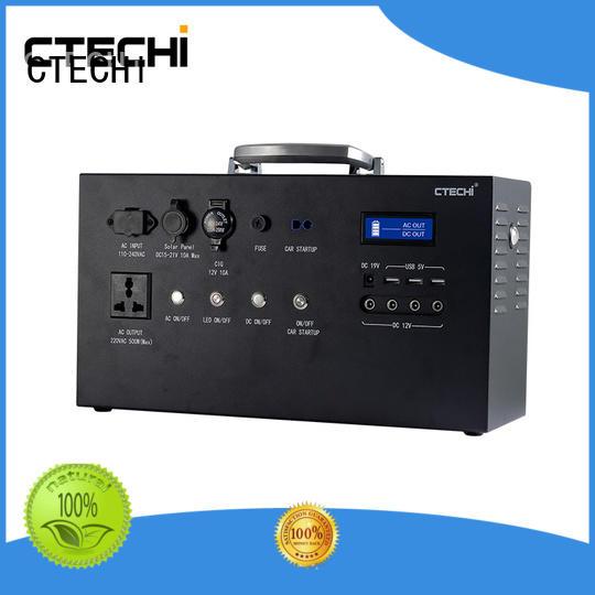 CTECHi light lifepo4 batterie portable for travel